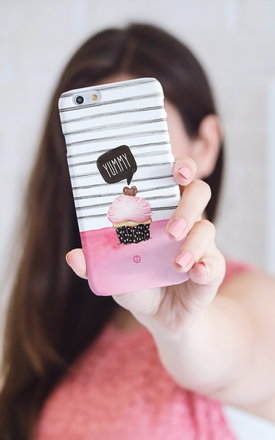 Cute yummy cupcake iphone case by Madotta Product photo