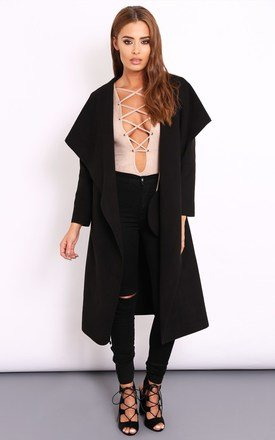 Dana black coat by Dolly Rocka Product photo