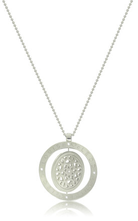 Silver Spinning Pendant by Louise McLeod Jewellery