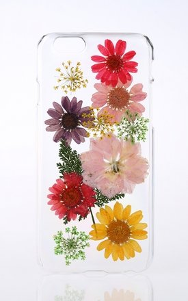 Clear Flower Phone Case for iPhone & Samsung by Flower Phone Case