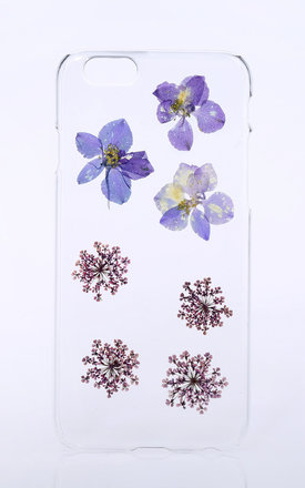 Clear phone case for iphone & samsung by Flower Phone Case Product photo