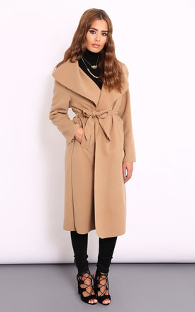 Frankie nude camel coat by Dolly Rocka Product photo