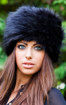 Cordelia faux fox cossack hat by Faux Fur Product photo