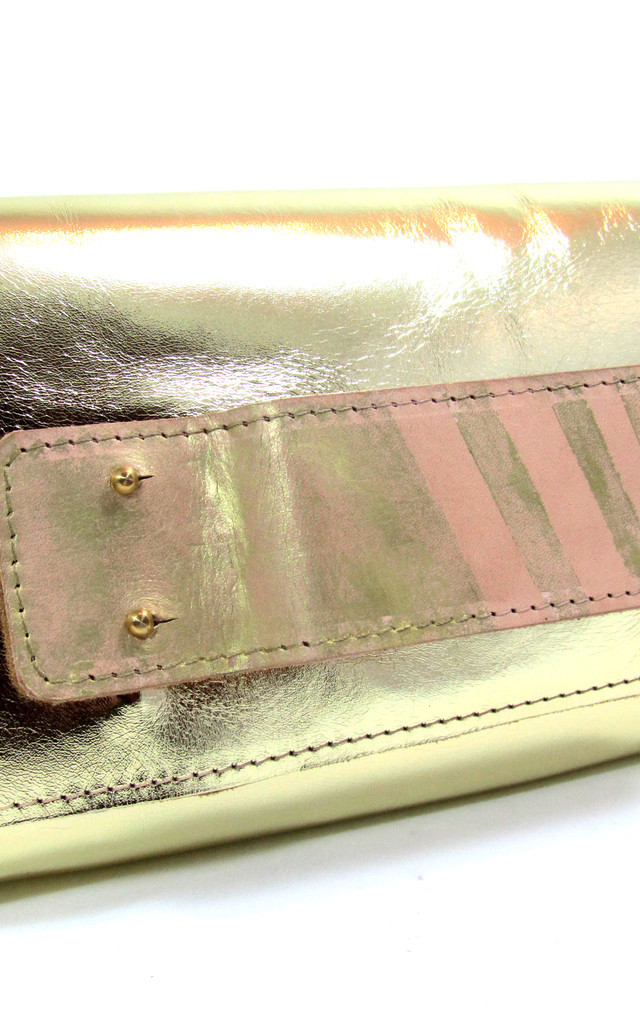 Josephine Gold Clutch bag by Renush