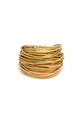 GOLD Wire Ring by Black and Sigi Limited