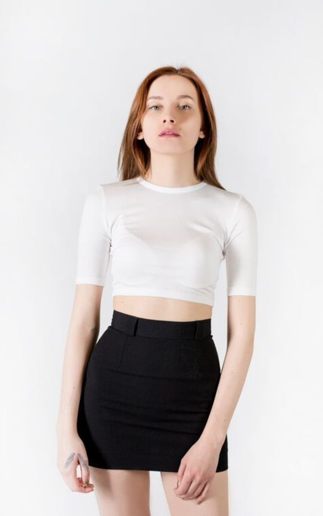 GREDI Cropped Top by Voynor