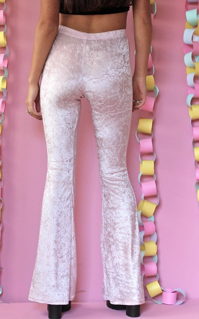 'Simple' Baby Pink Flares by Find the Light