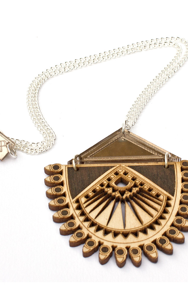 Lotus Necklace by Anisha Parmar London