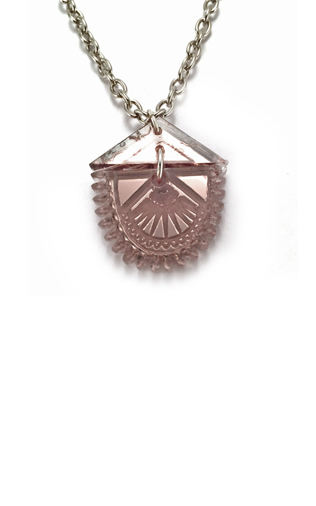 Mini Lotus Necklace by Anisha Parmar London