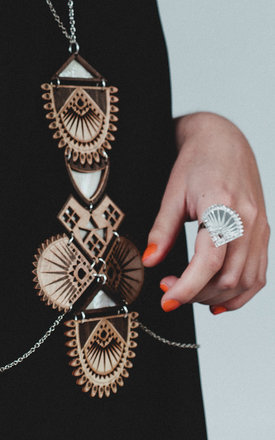Pukka Ring by Anisha Parmar London
