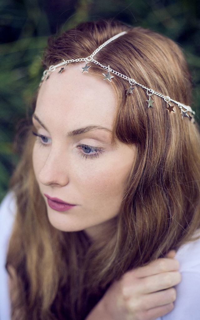 Star Chain Headdress by Beauxoxo