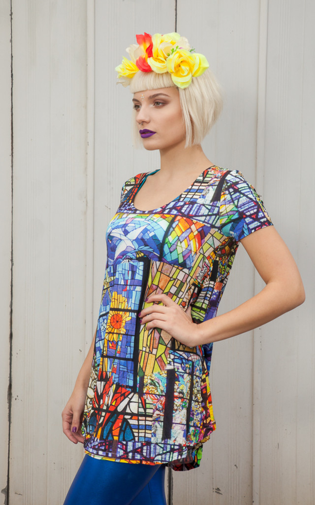 Stained Glass Dress by Get Crooked