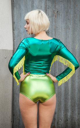 Foil Hotpants by Get Crooked