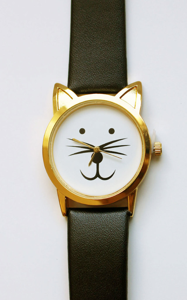 Black Cat Watch by Tallulah's Threads