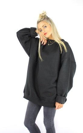 Black boyfriend jumper by Cats got the Cream Product photo