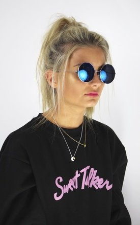 Bug eye sunglasses- blue by Cats got the Cream Product photo
