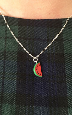 Watermelon Necklace by Tallulah's Threads