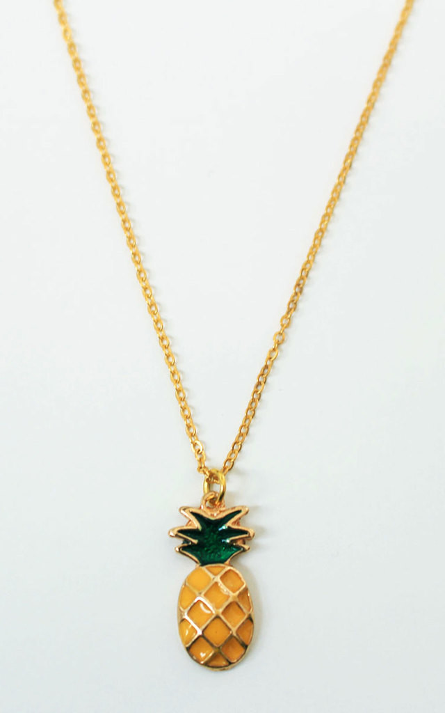 Pineapple Necklace by Tallulah's Threads