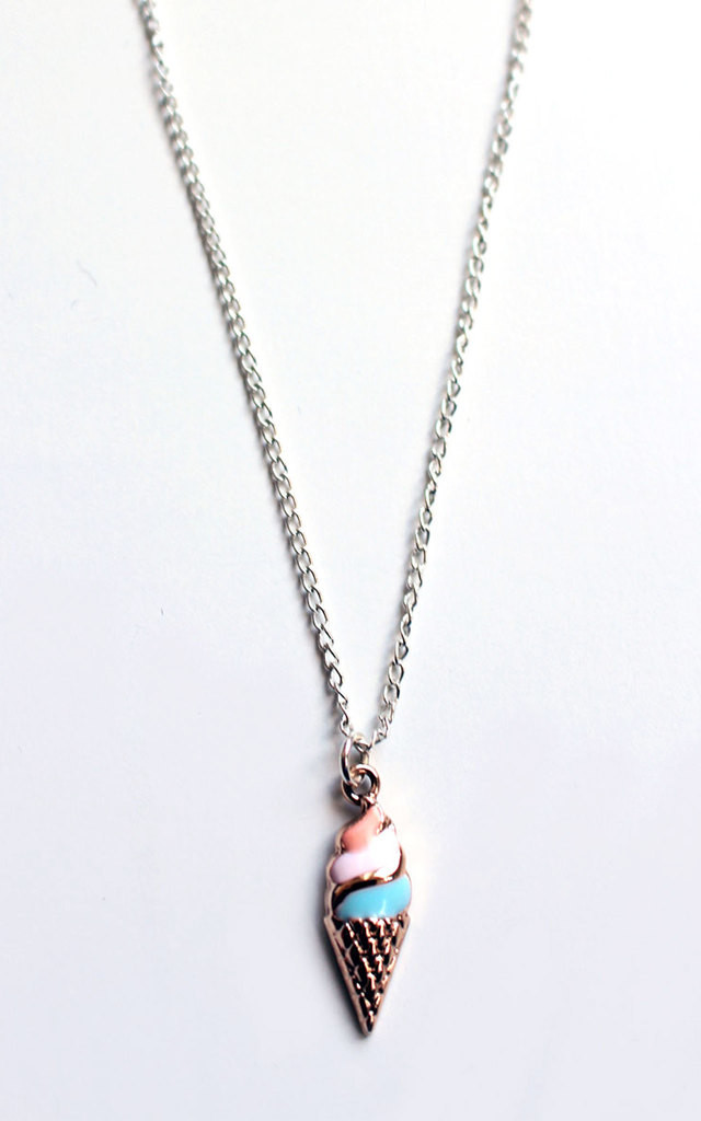Ice Cream Necklace by Tallulah's Threads