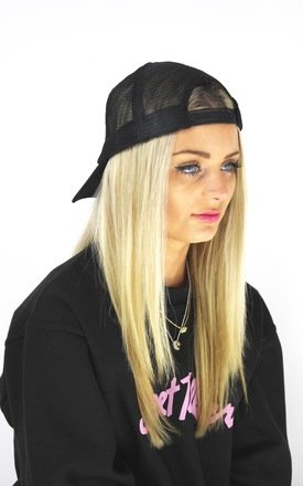 90's black mesh cap by Cats got the Cream Product photo