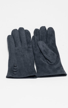Grey gloves by Lady Zee Product photo