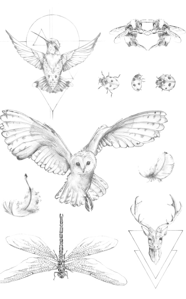 Free and Fearless Temporary Tattoos by IN YOUR DREAMS