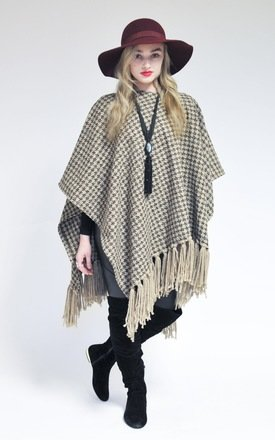Country tula poncho by Silver Birch Product photo
