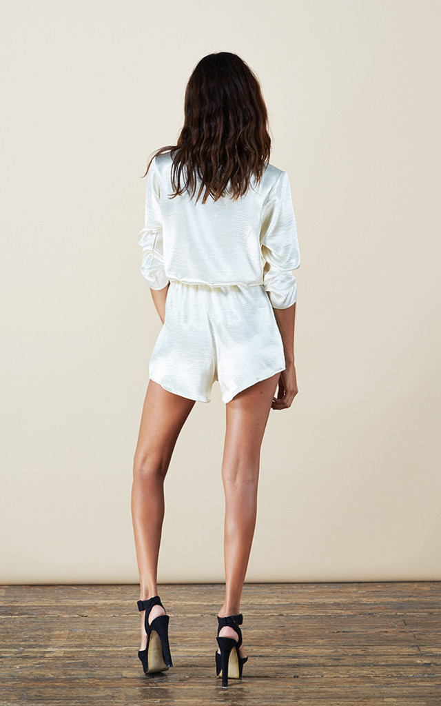 Tiago Playsuit in Champagne image