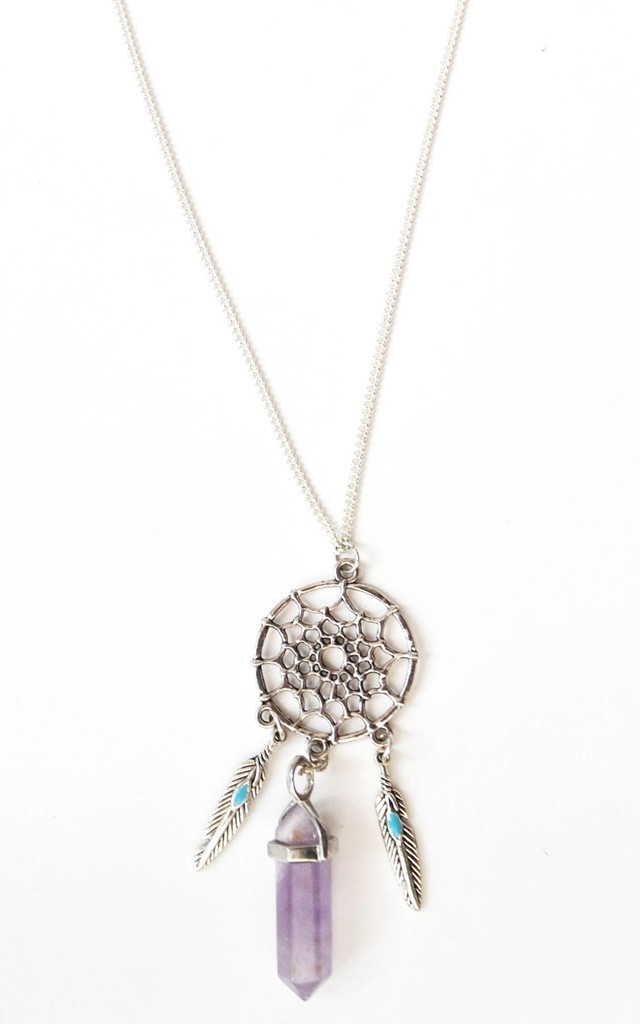 QUARTZ DREAMS NECKLACE by Wanderdusk