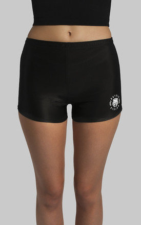 Lion short - black shorts by Kutula Product photo