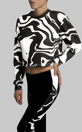 URBAN CAMO - CROPPED SWEATSHIRT by Kutula