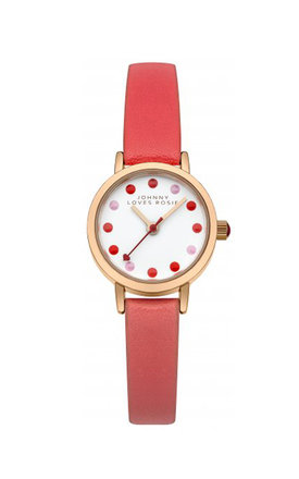 Johnny loves rosie coral strap watch by Johnny Loves Rosie Product photo