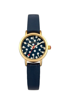 Johnny loves rosie navy polka dot face watch by Johnny Loves Rosie Product photo
