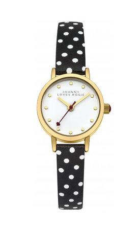 Johnny loves rosie polka dot strap watch by Johnny Loves Rosie Product photo