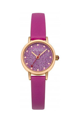 Johnny loves rosie pink glitter dial watch by Johnny Loves Rosie Product photo