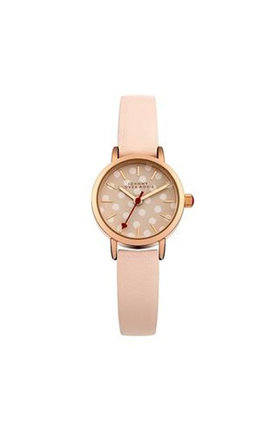 Johnny loves rosie nude polka dot face watch by Johnny Loves Rosie Product photo