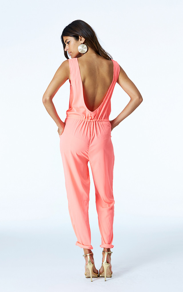 Tiger Romper in Neon by Dancing Leopard