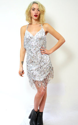Atomic tassle dress by Elsie & Fred Product photo