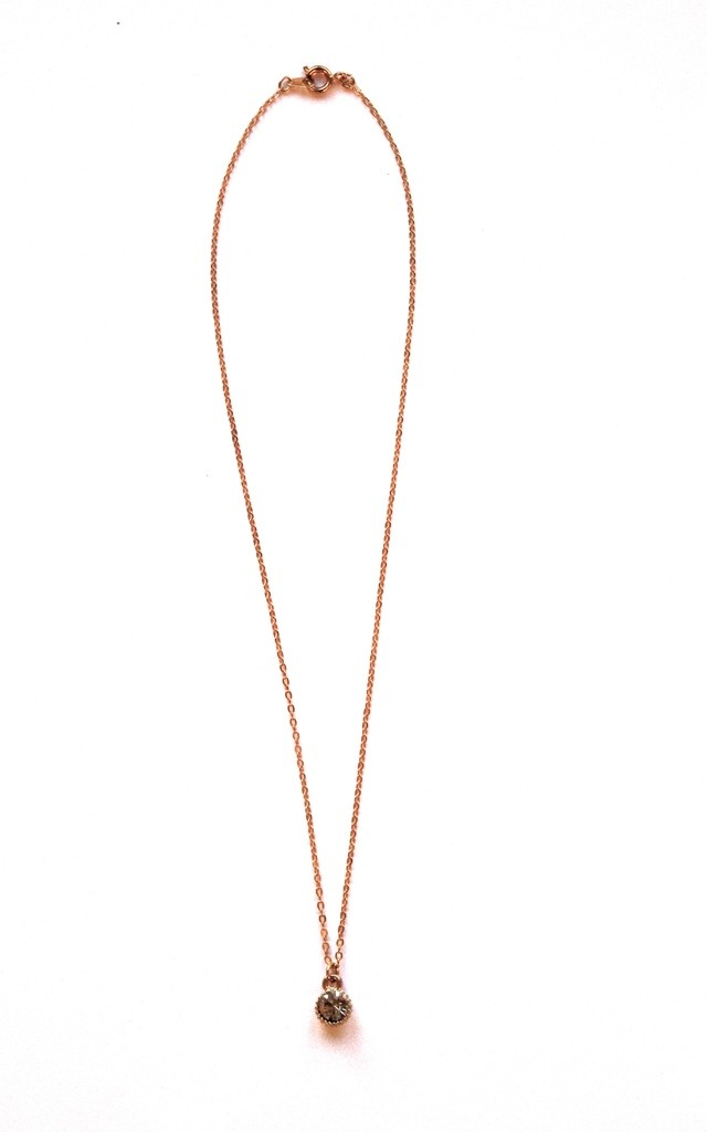 Dainty Crystal necklace by Terra Dea