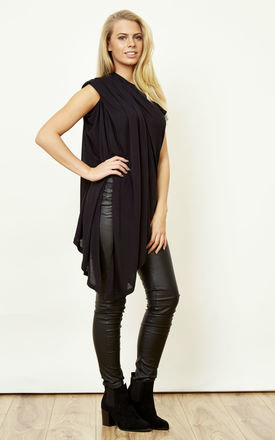 Drape Black Top by Noisy May