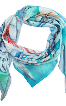 Dinali oversized luxury scarf by Leanne Claxton Product photo