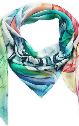 Keshini oversized luxury scarf  by Leanne Claxton Product photo