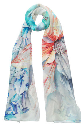 Dinali luxury long scarf  by Leanne Claxton Product photo