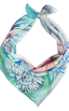 Dinali luxury neck scarf  by Leanne Claxton Product photo