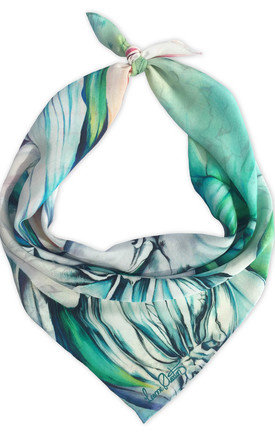 Keshini luxury neck scarf  by Leanne Claxton Product photo