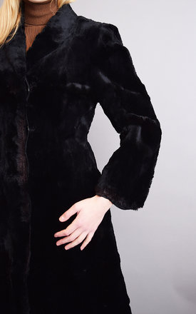 Amazing Vintage Real  Fur Midi Length Coat by Lover