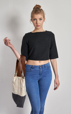 Melisa - Cropped Blouses by Madia & Matilda