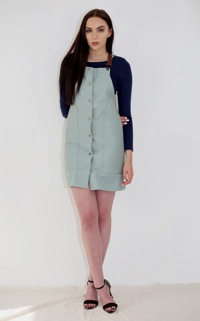 Leah - Pinafore Dress by Madia & Matilda