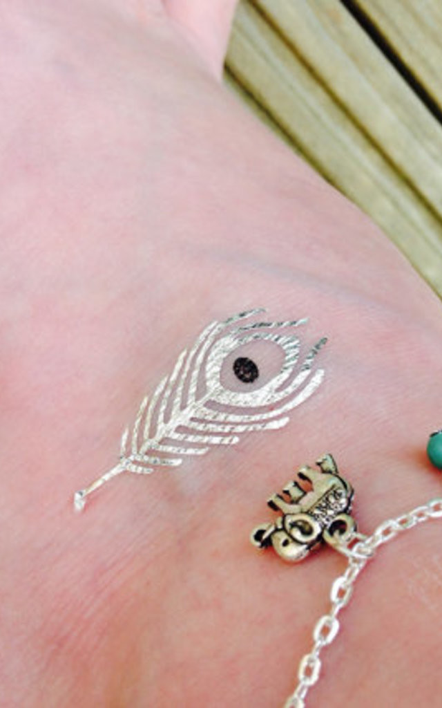 Elephant And Turquoise Bead Anklet by Diamond in The Sky