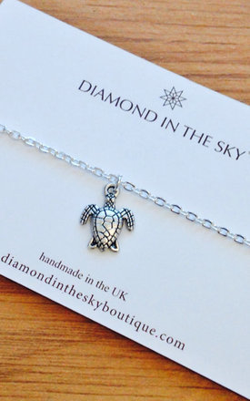 Turtle Gift Card Bracelet by Diamond in The Sky